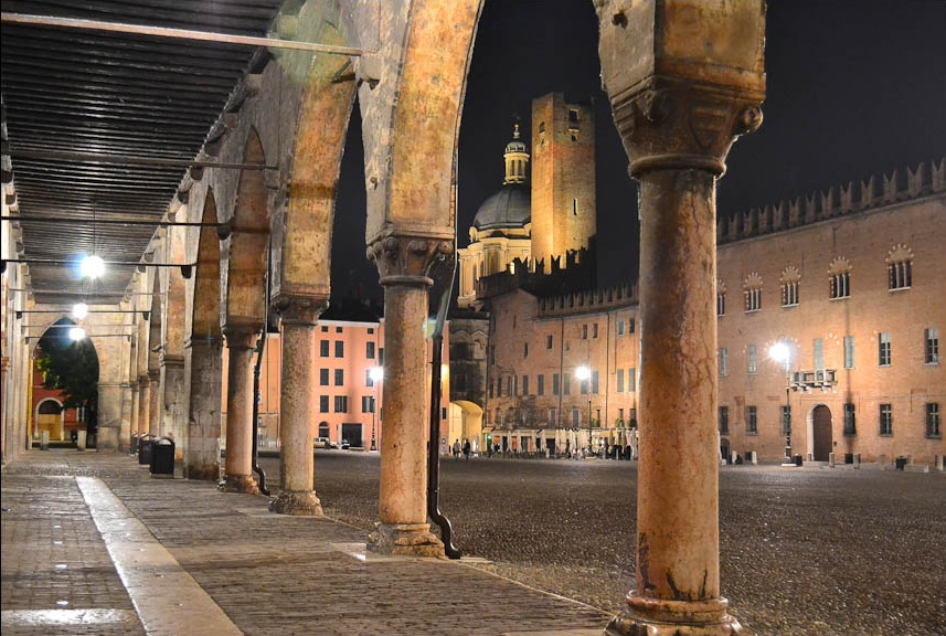 Mantova Palazzo Castiglioni in Piazza Sordello