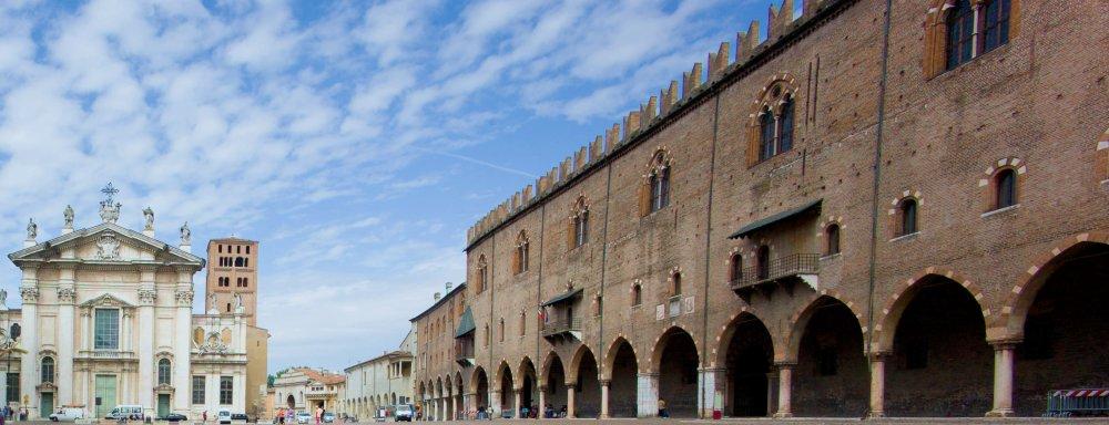 Mantova Piazza Sordello Palazzo Ducale