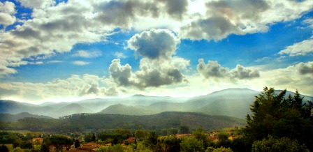 Northern Tuscany hills-  Estevillas