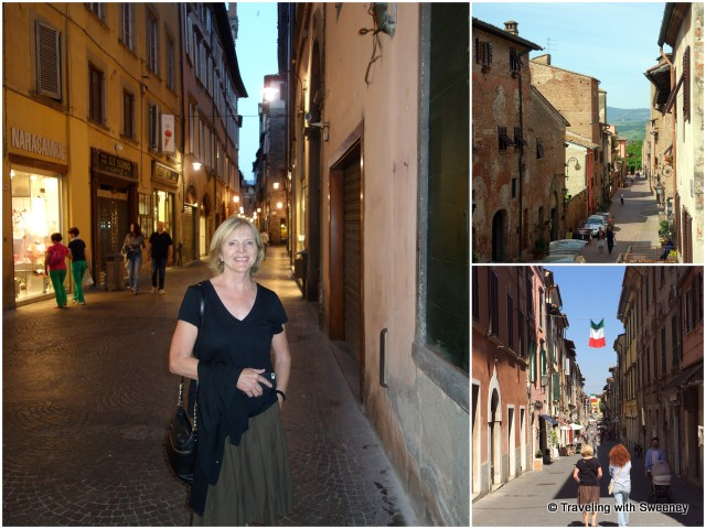 Strolling the streets of Lucca, Certaldo Alto and Pietrasanta