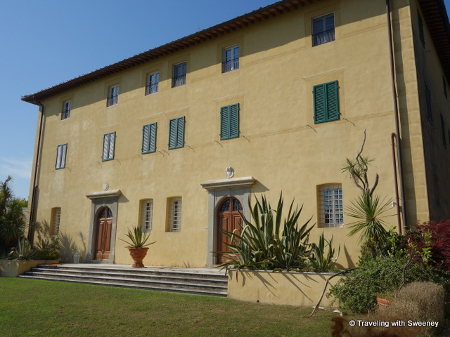 Villa Sant'Andrea in the hills above Pietrasanta