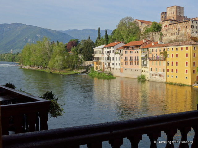 Bassano del Grappa — view from Ponte Vecchio