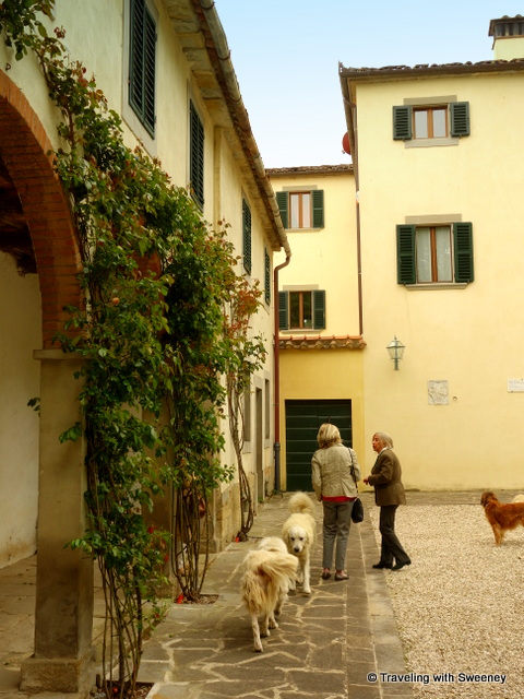 A warm welcome to Villa La Collina by Countess Maria Teresa Vespignani Boselli